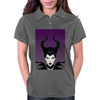 Maleficent Vector Womens Polo
