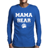 Mama Bear Cute Mens Long Sleeve T-Shirt