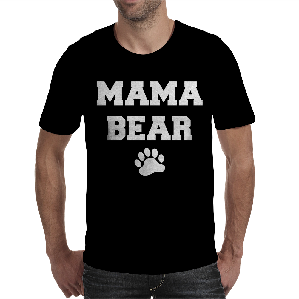 Mama Bear Cute Mens T-Shirt