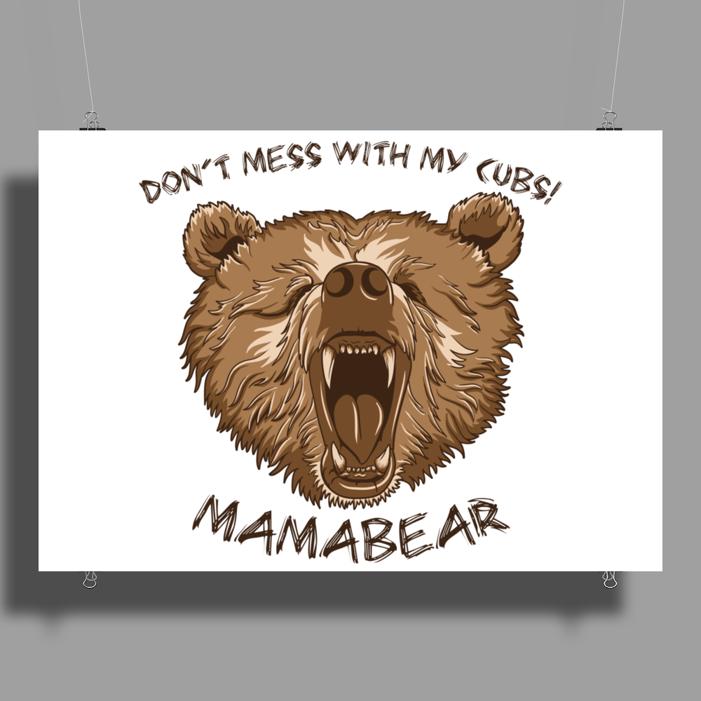 Mamabear Poster Print (Landscape)