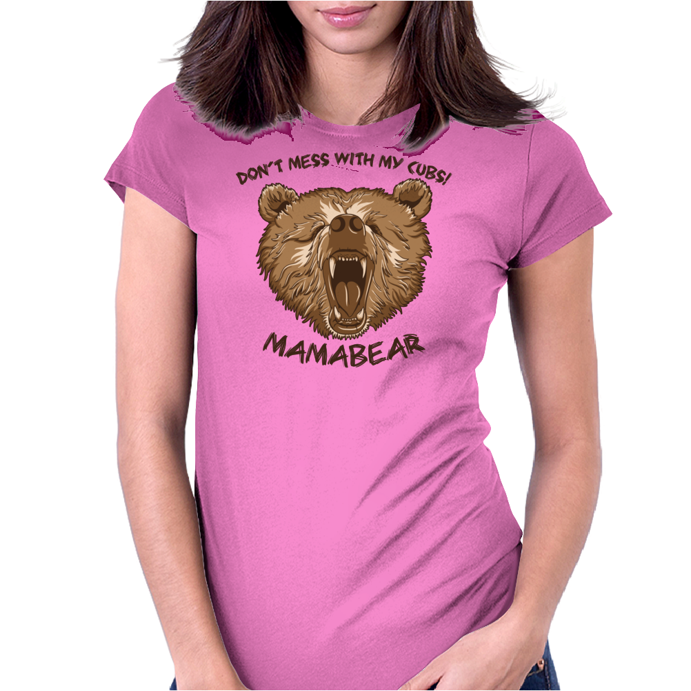 Mamabear Womens Fitted T-Shirt