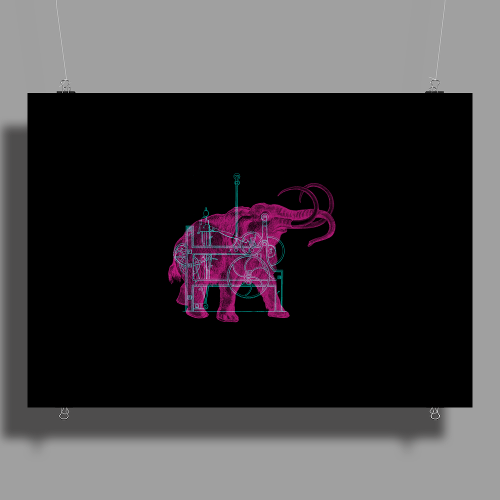 Mammoth Machine Poster Print (Landscape)