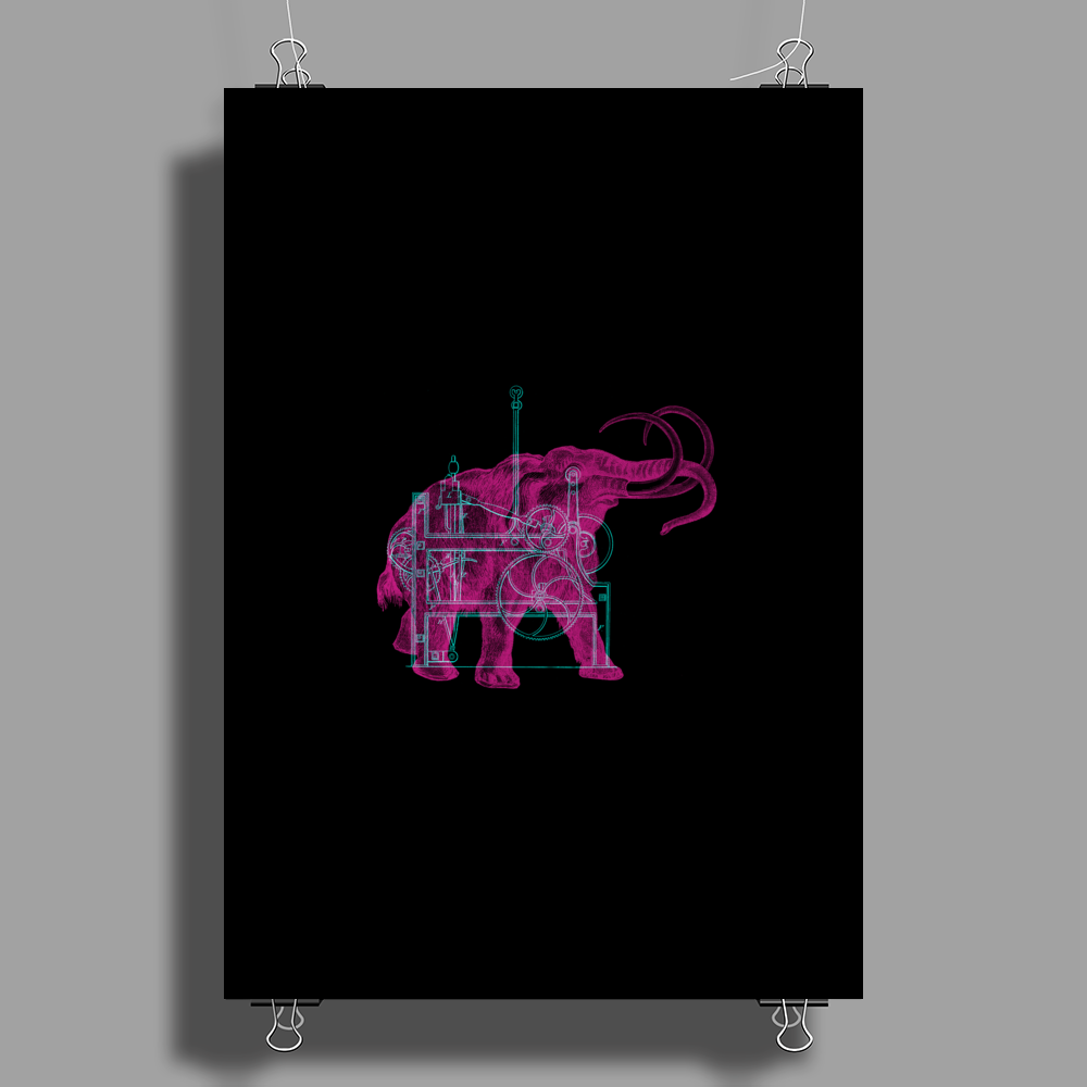 Mammoth Machine Poster Print (Portrait)