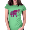 Mammoth Machine Womens Fitted T-Shirt
