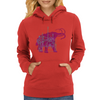Mammoth Machine Womens Hoodie