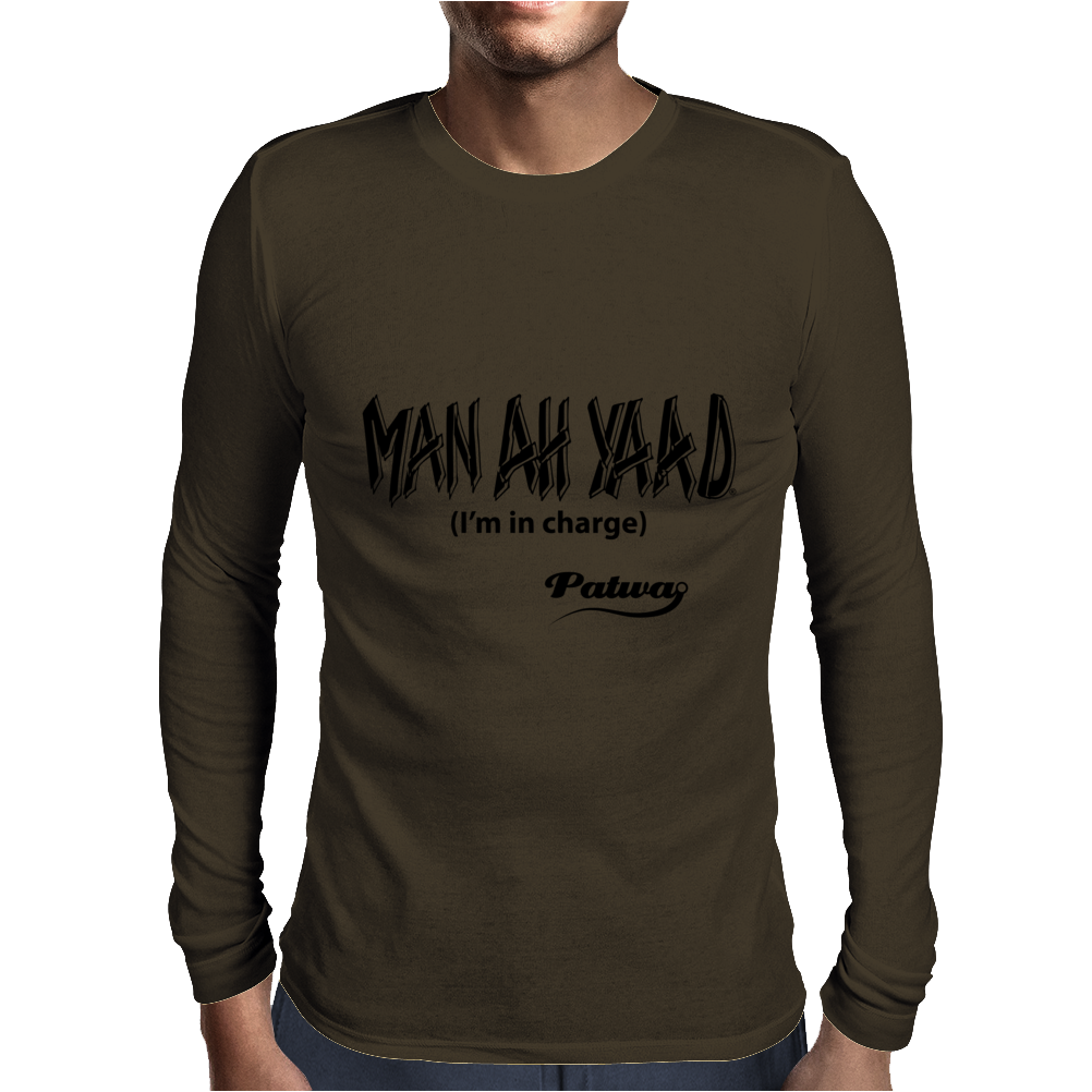 Man ah Yaad Mens Long Sleeve T-Shirt