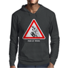 Man at Work Mens Hoodie