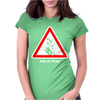 Man at Work Womens Fitted T-Shirt