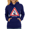 Man at Work Womens Hoodie