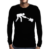 Man Breaking Rock Guitar Mens Long Sleeve T-Shirt