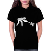 Man Breaking Rock Guitar Womens Polo