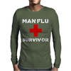 Man Flu Survivor Mens Long Sleeve T-Shirt