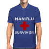 Man Flu Survivor Mens Polo