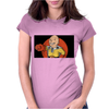 man punch Womens Fitted T-Shirt