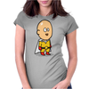 man tv Womens Fitted T-Shirt