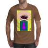 Man with Tie Mens T-Shirt