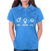 Man Woman Geek Womens Polo