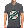 Mandalorian Boba Fett Sci Fi Movie Mens Polo