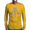 MANDALORIAN SKULL funny Mens Long Sleeve T-Shirt