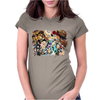 manga one Womens Fitted T-Shirt