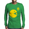 Manny Pacquiao Wears Pac-Man Eating Money Mens Long Sleeve T-Shirt