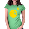 Manny Pacquiao Wears Pac-Man Eating Money Womens Fitted T-Shirt