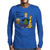 Man's Best Friends are his Beer and Dog Mens Long Sleeve T-Shirt