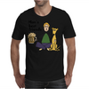 Man's Best Friends are his Beer and Dog Mens T-Shirt