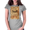 Marauders map Womens Fitted T-Shirt