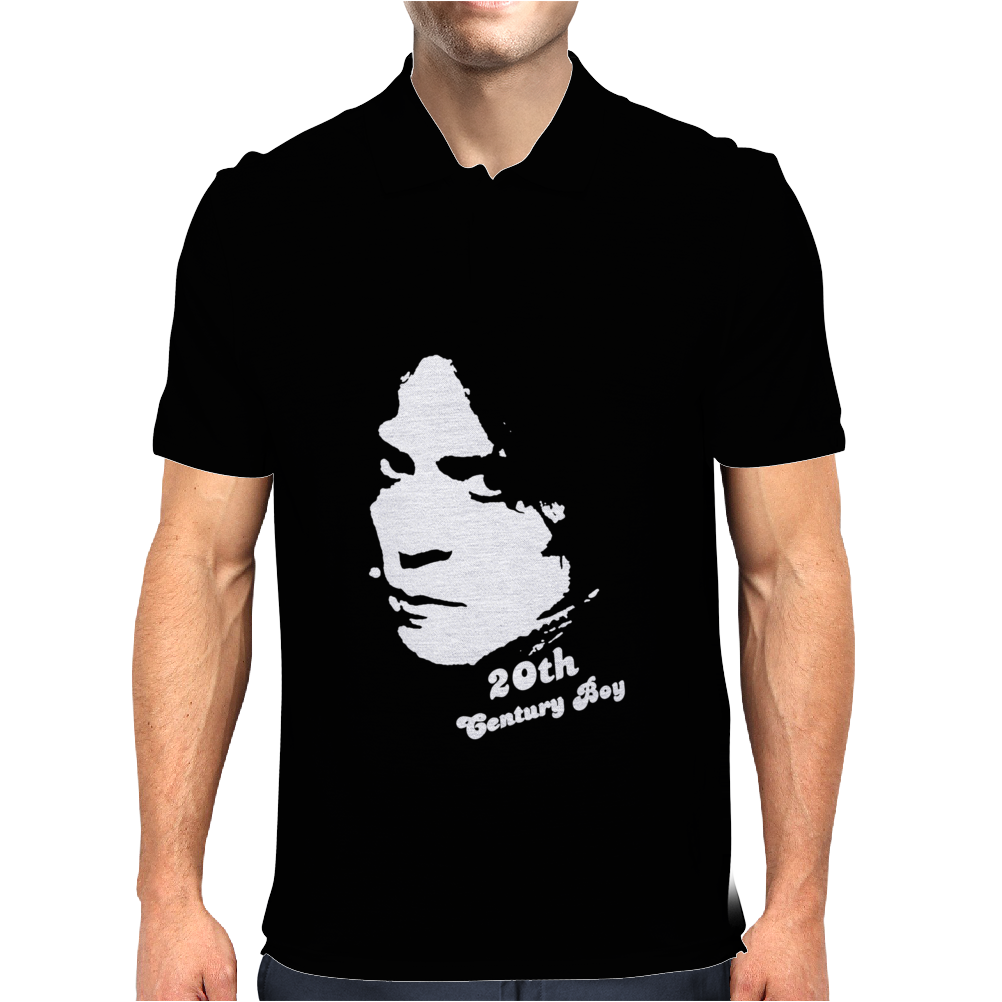 Marc Bolan 20th Century Boy Mens Polo