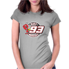 Marc Marquez #93 Womens Fitted T-Shirt