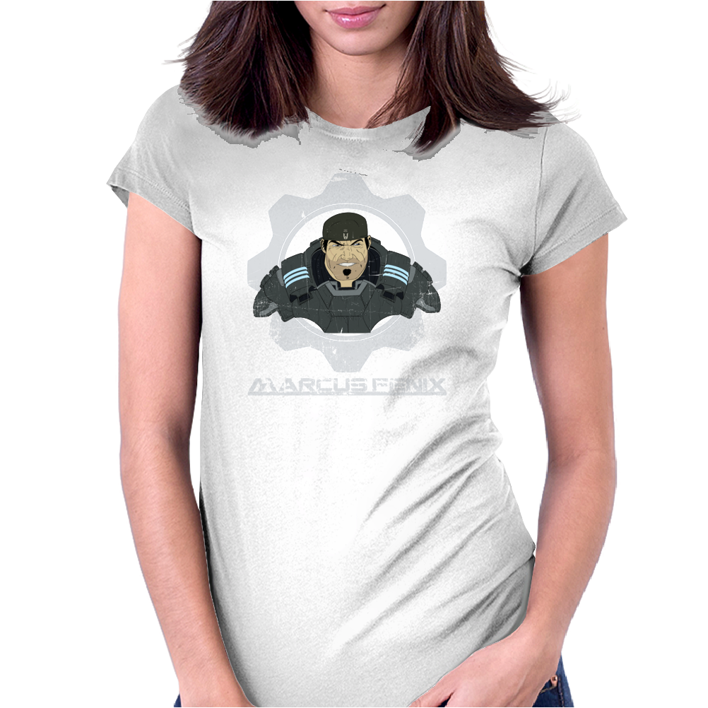 Marcus Fenix Womens Fitted T-Shirt