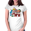 MargaritaTaichou Merry Christmas  Dragonball Z Womens Fitted T-Shirt