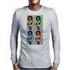 maria pop art Mens Long Sleeve T-Shirt