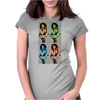 maria pop art Womens Fitted T-Shirt
