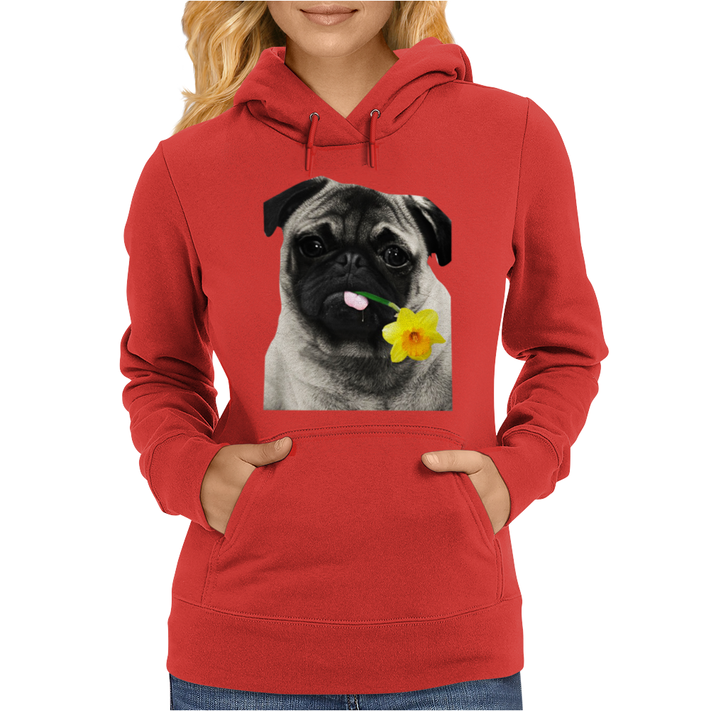 Marie Curie Great Daffodil Appeal Womens Hoodie