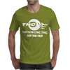 Marihuana Cannabis Ganja Air Line Mens T-Shirt