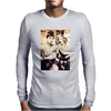 Marilyn Monroe Audrey Hepburn Mens Long Sleeve T-Shirt