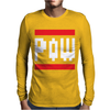 Mario Bros Mens Long Sleeve T-Shirt