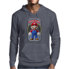 Mario Original Player Ideal Birthday Present or Gift Mens Hoodie