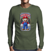Mario Original Player Ideal Birthday Present or Gift Mens Long Sleeve T-Shirt