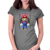 Mario Original Player Ideal Birthday Present or Gift Womens Fitted T-Shirt