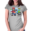Mario Thug Life Womens Fitted T-Shirt