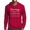 Marriage Mens Hoodie