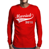 Married Since 2016 Mens Long Sleeve T-Shirt