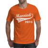 Married Since 2016 Mens T-Shirt