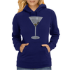 Martini Cocktail Womens Hoodie