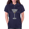 Martini Cocktail Womens Polo
