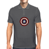 Marvel Captain America Shield Mens Polo