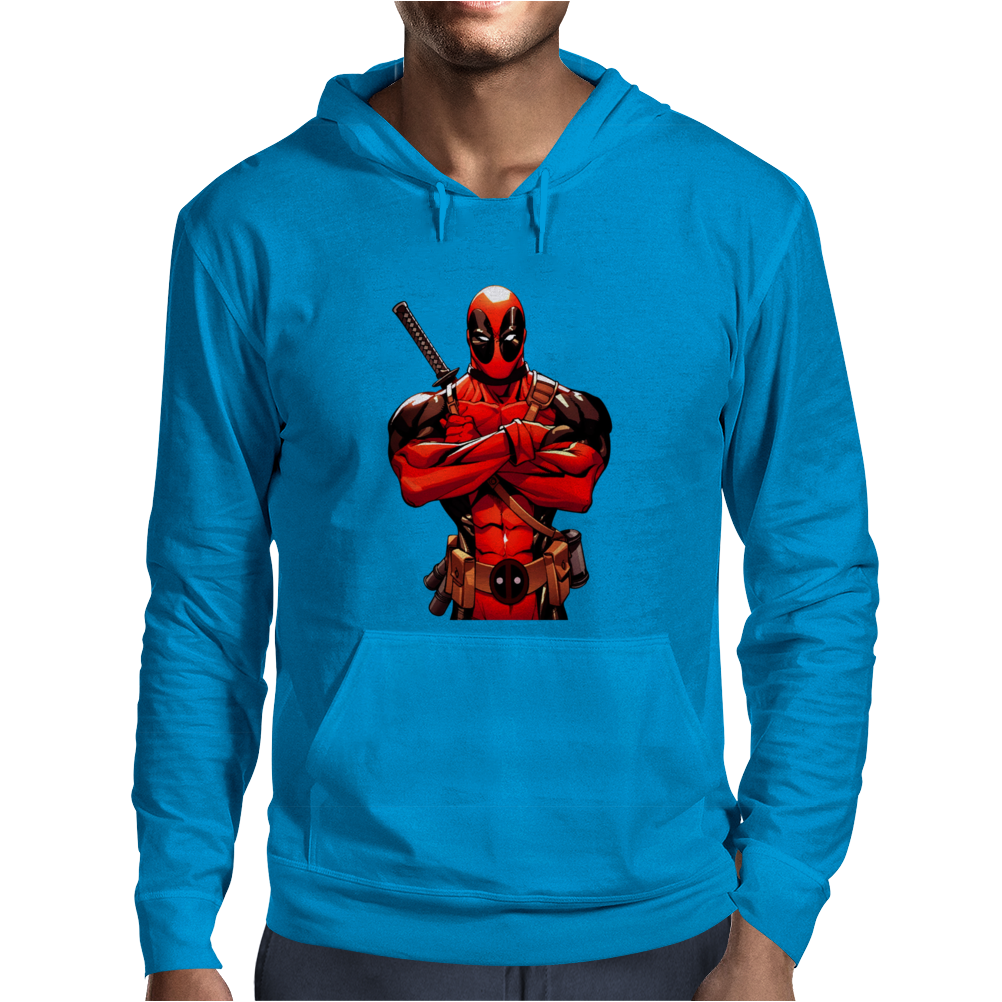 Marvel Comics Deadpool Mens Hoodie